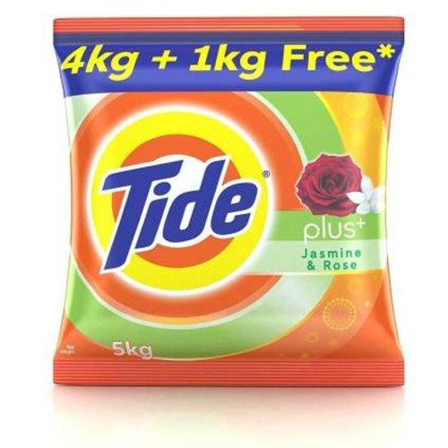 Tide With Extra Power  Detergent Powder Jasmin & Rose - 5kg