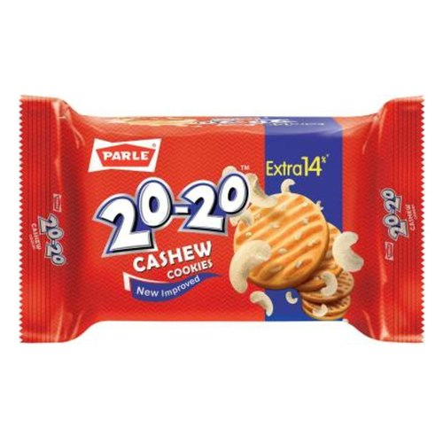 Parle 20-20 Gold Butter Cookie Biscuits - 150g