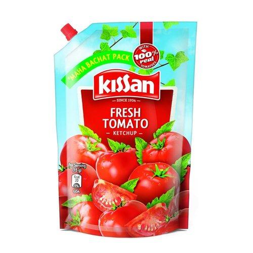 Kissan Fresh Tomato Ketchup Pouch - 450g