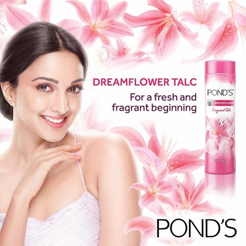 Ponds Dream Flower Fragrant Talc Powder - 400g