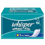 Whisper Maxi Fit Regular 215mm - 8pad