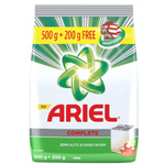 Ariel Complete Detergent Powder 500g - With 200gm Extra