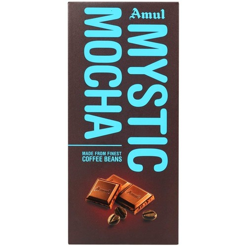 Amul Mystic Mocha Chocolate (Made From Finest Coffee Beans) -150g
