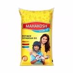 Mahakosh Refined Soyabean Oil Pouch - 1L