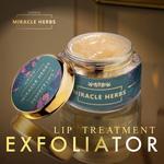 Miracle Herbs PERFECT LIPS lip treatment balm & lip exfoliator 100 Organic Lip Care Exfoliating Scrub and Lip Balm Lip Moisturizer for Chapped Lips Treatment, Lip Repair for Lush Soft Lips,15gm