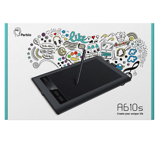 Parblo A610S Digital Drawing Tablet