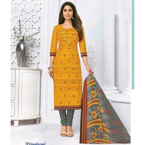 Pranjul Cotton Printed Dress Material SHR-104