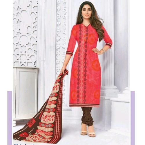Pranjul Cotton Printed Dress Material SHR-103