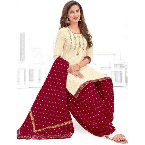 Pranjul Cotton Printed Dress Material
