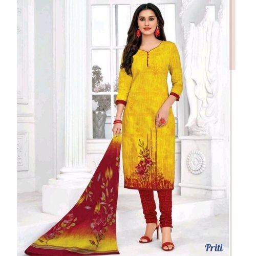 Pranjul Cotton Printed Dress Material SHR-101