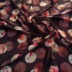 Best Quality silk Dress Material Online Brown