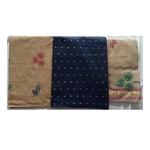 Cotton Dress Material with Dot Threat work Navy Blue