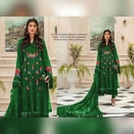 Pakistani Festive Hit Designer and Party Wear Salwar Suits Green