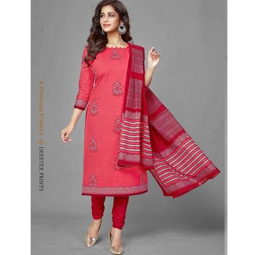 Deeptex Cotton Printed Dress Material DPT-105