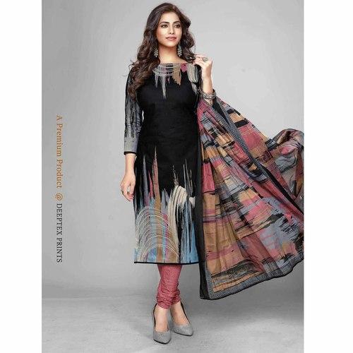 Deeptex Cotton Printed Dress Material DPT-109