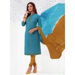 Honey boutique Tradition Cotton Printed Salwar suit.