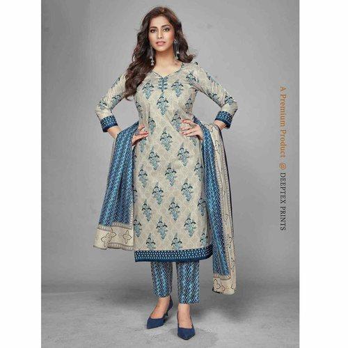 Deeptex Cotton Printed Dress Material DPT-104