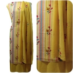 Best Quality Synthethic Crepe Dress Material 3star-111