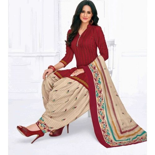 cotton print salwar suits for women online in india l PRJ-106