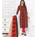 Pranjul Cotton Printed Dress Material SHR-105