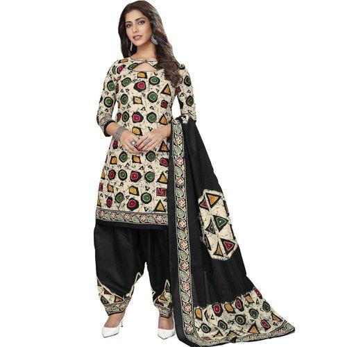 Batik Printed Cotton Dress Material BT-101