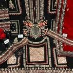 Pakistani Festive Hit Designer and Party Wear Salwar Suits Black