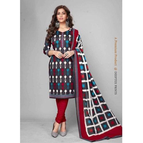 Deeptex Cotton Printed Dress Material DPT-102