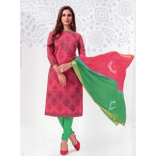 Best quality Printed Cotton Dress material online
