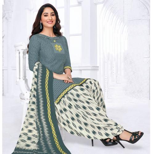 Pranjul Cotton Printed unstitched Salwar suits PRJ-103
