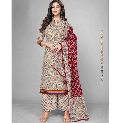 Deeptex Cotton Printed Dress Material DPT-114