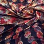 Premium Quality Silk Dress Material Navy blue