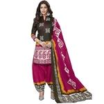 Batik Printed Cotton Dress Material BT-104
