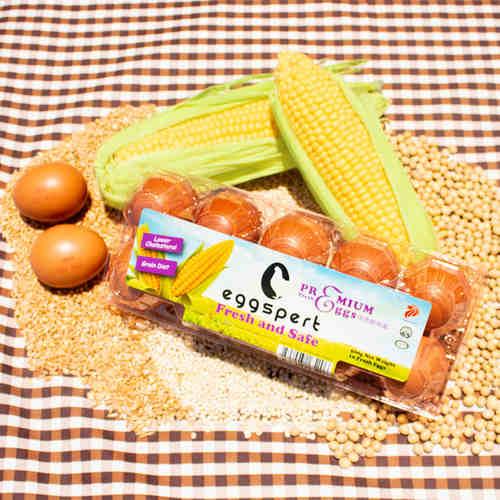 Eggspert Grain Diet Eggs Per Carton