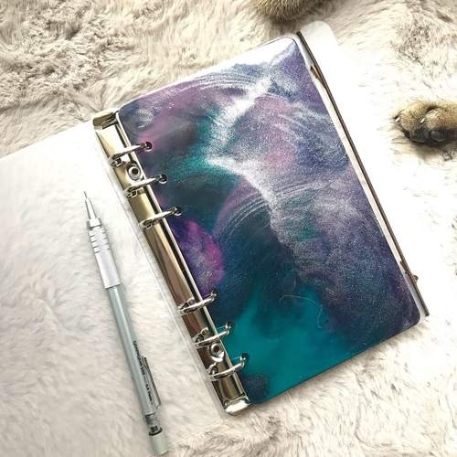 A5 Planner Cover in resin