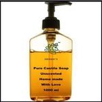 Liquid Castile Soap 1000 ml Unscented