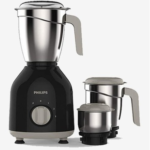 Philips HL775600 750-Watt Mixer Grinder with 3 Jars Black