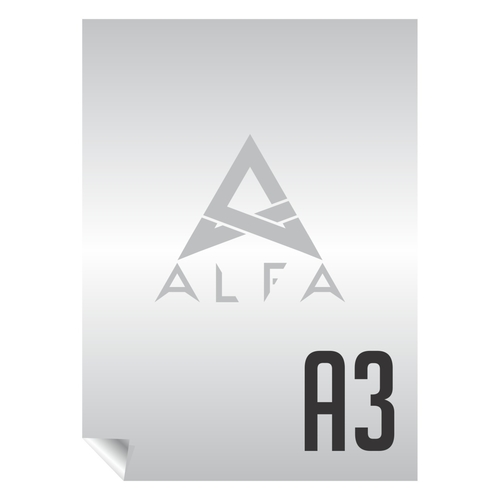 ALFA DTF PET A3  Hot & Cold Peel 80 Micron Heat Transfer Film