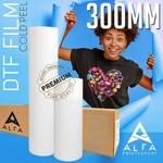 ALFA DTF PET 30x100 Mtr Cold Peel 75Micron Heat Transfer Film
