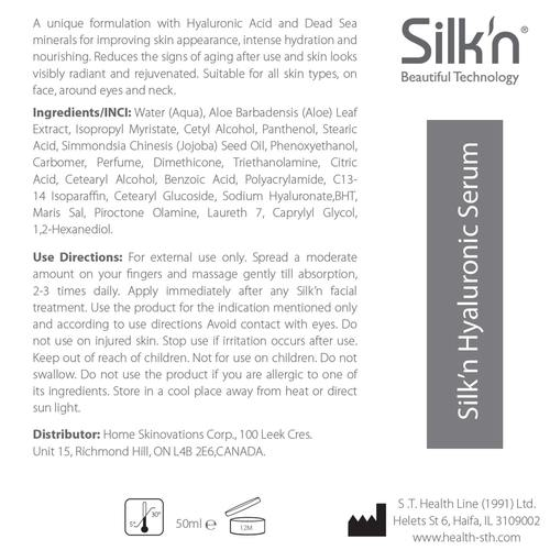 Silkn Hyaluronic Serum