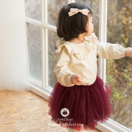 (RESTOCK) Baby Burgundy Lovely Tutu