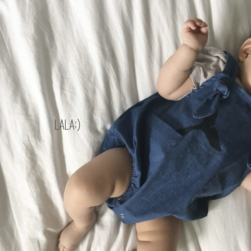 Whale Tail Romper