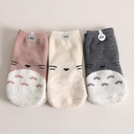 Totoro Socks (Set of 3)