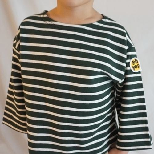 Stripe Patch T