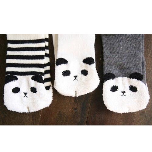 Cute Panda Socks (Set of 3)