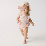 Baby Sun Romper - Flags