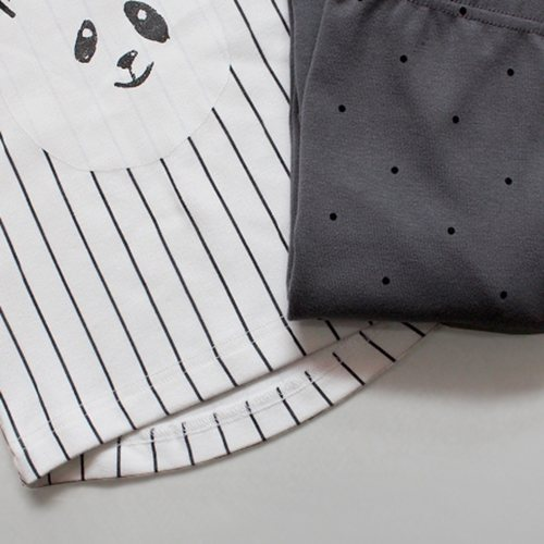 (RESTOCK) Ivory Panda PJs