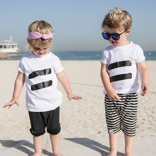 EQUALITY Unisex T-Shirt Action For Children