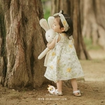 (RESTOCK) Flower Baby Cotton Dress