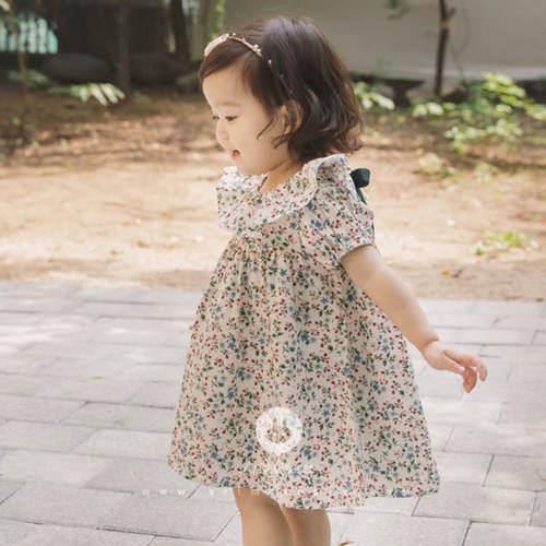 Baby Flowers Cotton Summer Dress