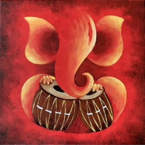 Ganesha with tabla (3 hours)